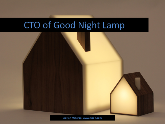 CTO of Good Night Lamp