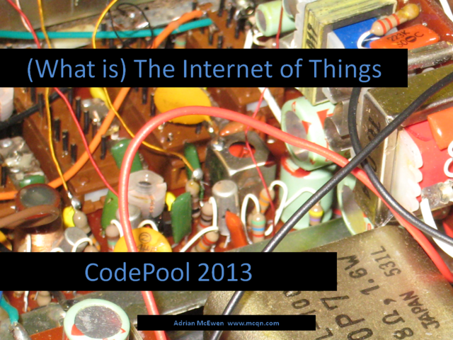 (What is) The Internet of Things
