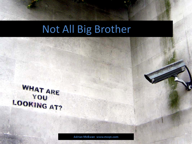 Not All Big Brother