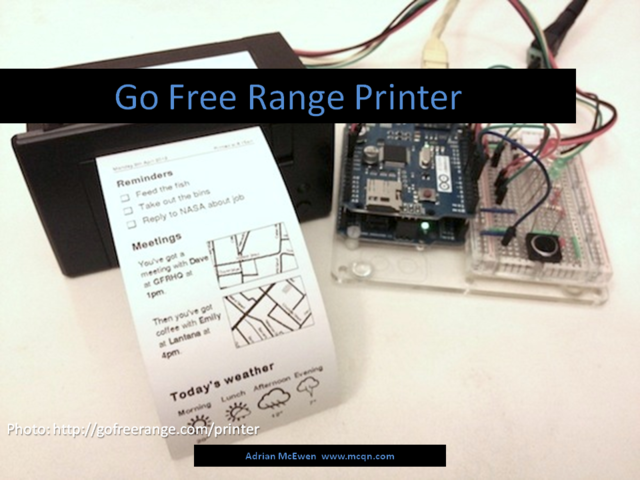Go Free Range Printer
