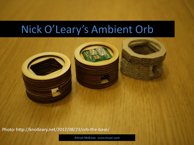 Nick O'Leary's Ambient Orb