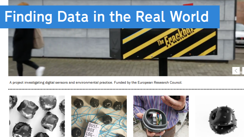 Finding data in the real world