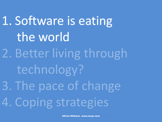 1. Software is eating the world