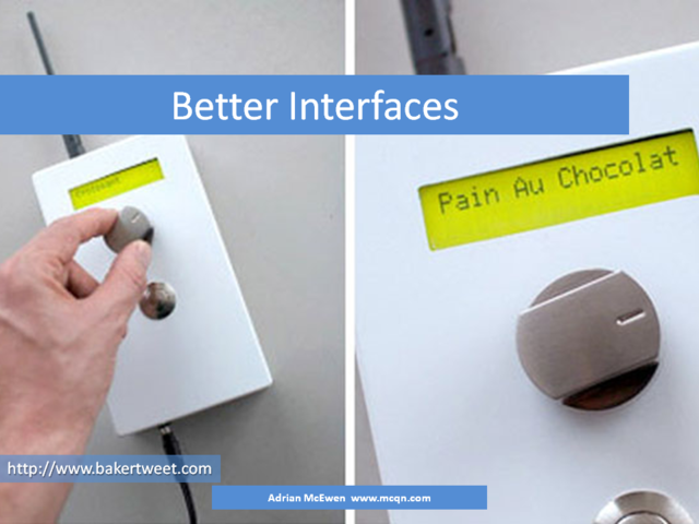 Better Interfaces