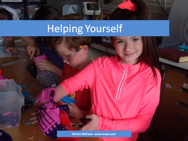 Helping Yourself