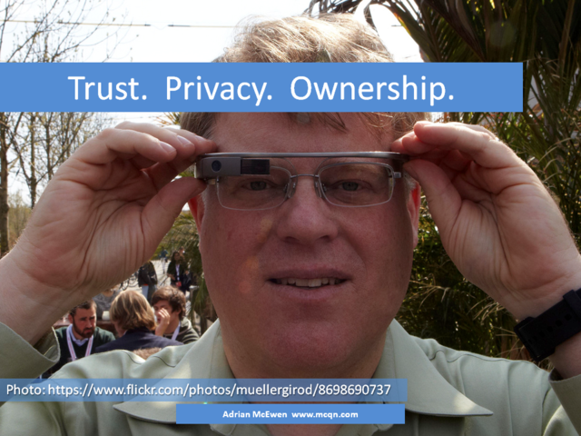 Trust.  Privacy.  Ownership.