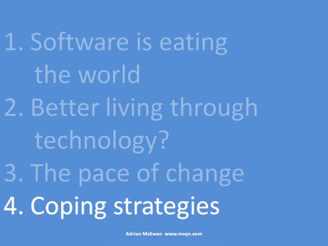 4. Coping strategies