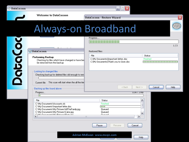 Always-on Broadband