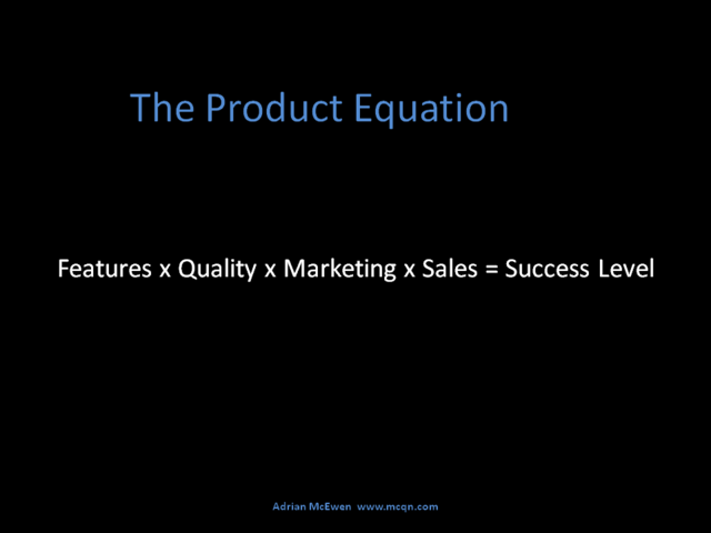 The Product Equation