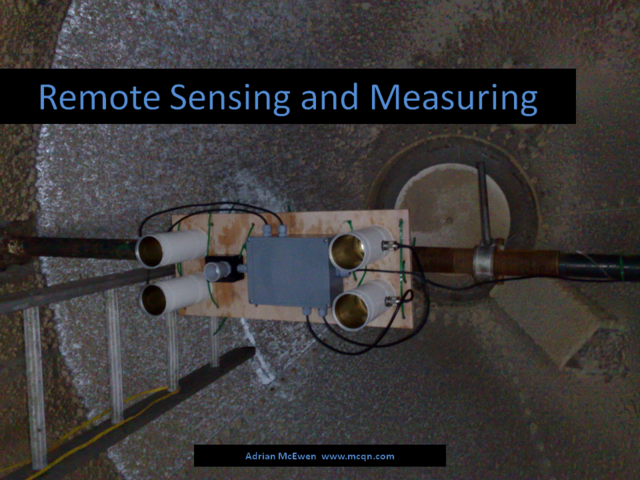 Remote Sensing and Measuring