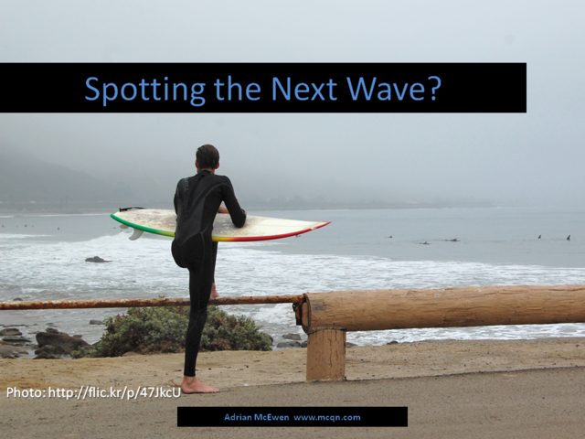 Spotting the Next Wave?
