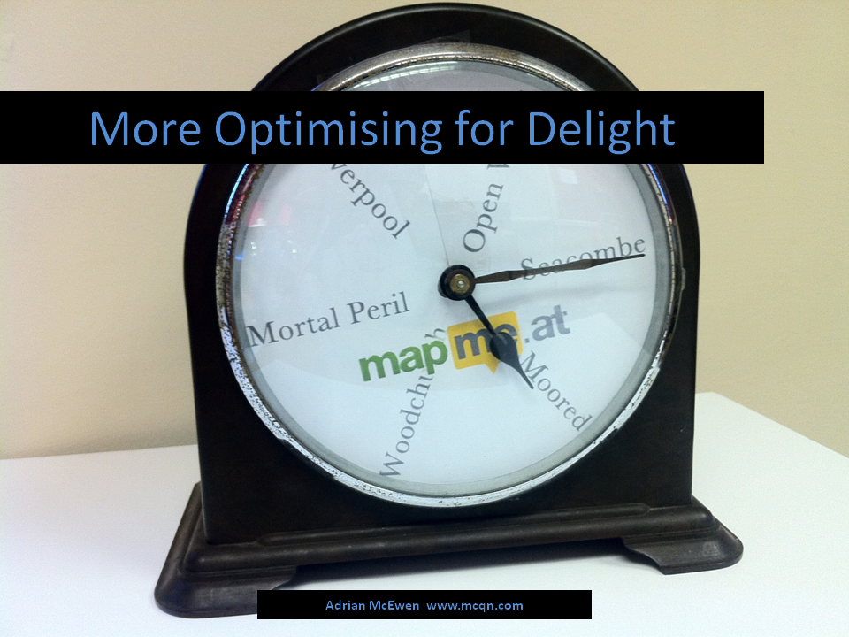 More Optimising for Delight