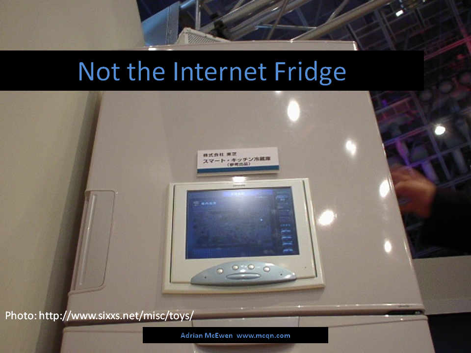 Not the Internet Fridge