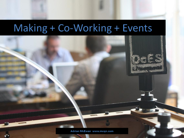 Making + Co-working + Events