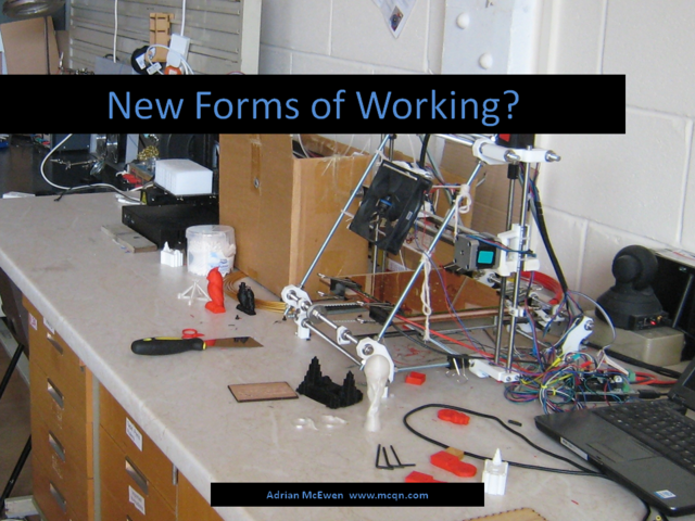 New Forms of Working?