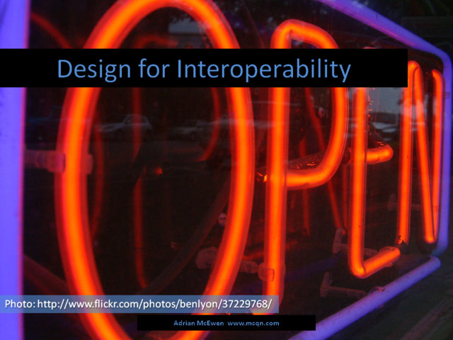 Design for Interoperability