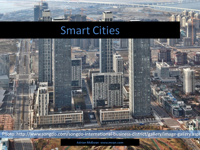 Smart Cities: Songdo
