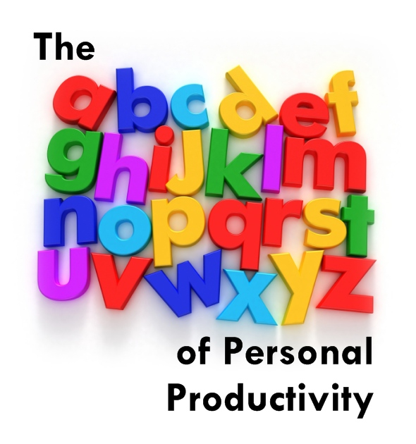 Picture showing The A-Z of Personal Productivity