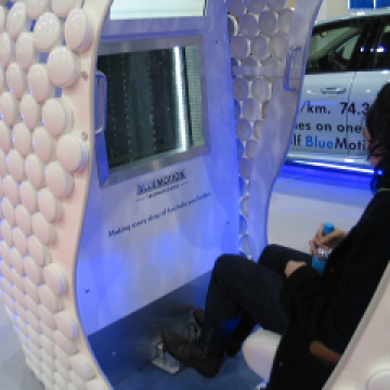TBEC – interactive VW exhibition stands